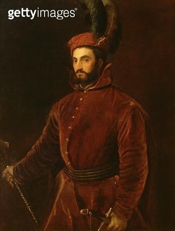 <b>Title</b> : Portrait of Ippolito de' Medici<br><b>Medium</b> : oil on canvas<br><b>Location</b> : Palazzo Pitti, Florence, Italy<br> - gettyimageskorea