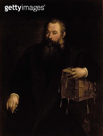 <b>Title</b> : Portrait of the doctor Andreas Vesalius<br><b>Medium</b> : <br><b>Location</b> : Palazzo Pitti, Florence, Italy<br> - gettyimageskorea