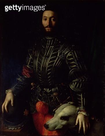 <b>Title</b> : Portrait of Guidubaldo della Rovere, Duke of Urbino<br><b>Medium</b> : <br><b>Location</b> : Palazzo Pitti, Florence, Italy<br> - gettyimageskorea