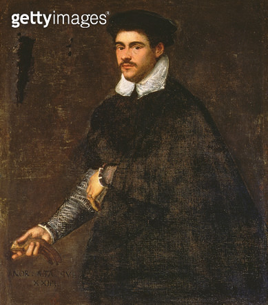 <b>Title</b> : Portrait of a young man<br><b>Medium</b> : oil on canvas<br><b>Location</b> : Palazzo Pitti, Florence, Italy<br> - gettyimageskorea