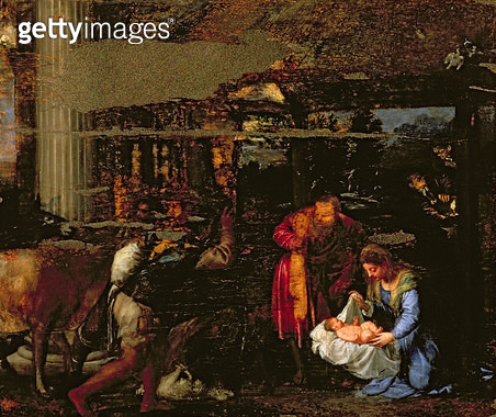 <b>Title</b> : The Adoration of the Shepherds<br><b>Medium</b> : oil on canvas<br><b>Location</b> : Palazzo Pitti, Florence, Italy<br> - gettyimageskorea