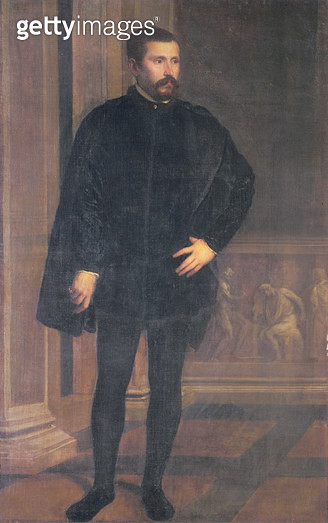 <b>Title</b> : Portrait of Diego Hurtado de Mendoza (1503-75), Spanish politicianAdditional InfoCharles V representative at the Council of Tren<br><b>Medium</b> : oil on canvas<br><b>Location</b> : Palazzo Pitti, Florence, Italy<br> - gettyimageskorea