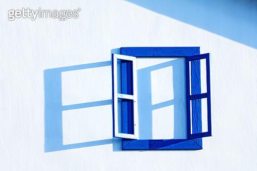 Open window on white wall, Taiwan - gettyimageskorea