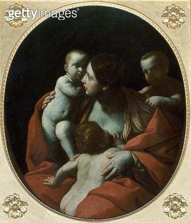 <b>Title</b> : Charity<br><b>Medium</b> : oil on canvas<br><b>Location</b> : Palazzo Pitti, Florence, Italy<br> - gettyimageskorea
