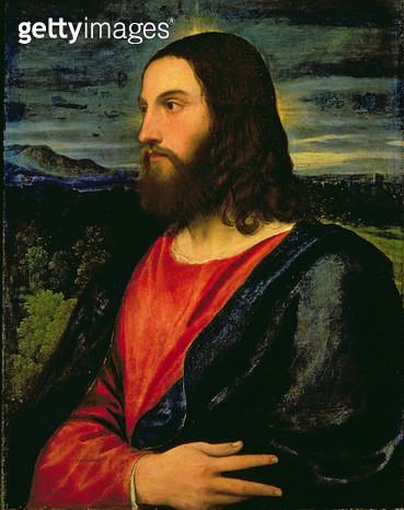 <b>Title</b> : Christ the Redeemer<br><b>Medium</b> : oil on canvas<br><b>Location</b> : Palazzo Pitti, Florence, Italy<br> - gettyimageskorea