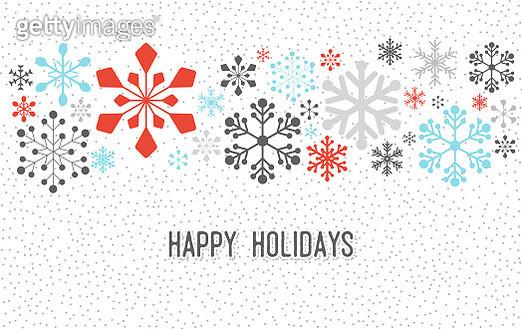 Christmas Snowflake Pattern - gettyimageskorea