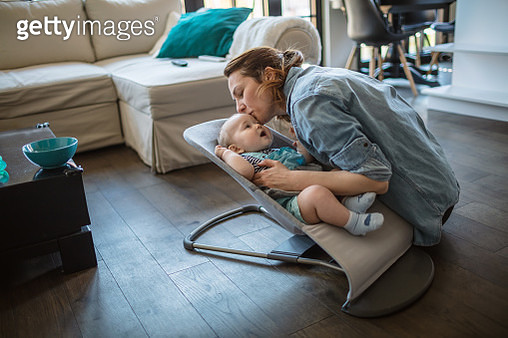 Cozy day with my baby - gettyimageskorea