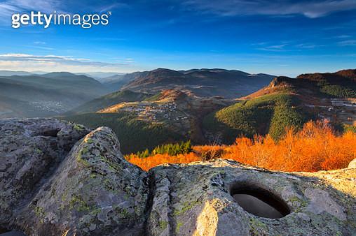 Rhodope Mountain, Bulgaria - November 2012: Tharcian Sanctuary of Belintash - gettyimageskorea