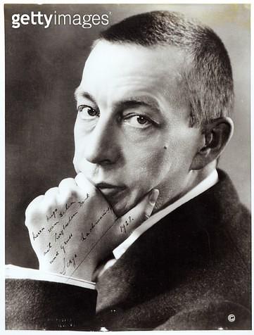<b>Title</b> : Portrait of Sergei Rachmaninov, 1928 (photo)<br><b>Medium</b> : <br><b>Location</b> : Haags Gemeentemuseum, The Hague, Netherlands<br> - gettyimageskorea