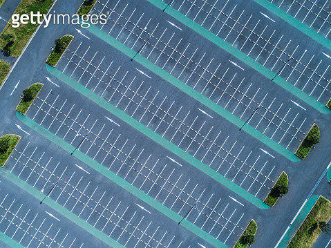 Empty parking lot - gettyimageskorea
