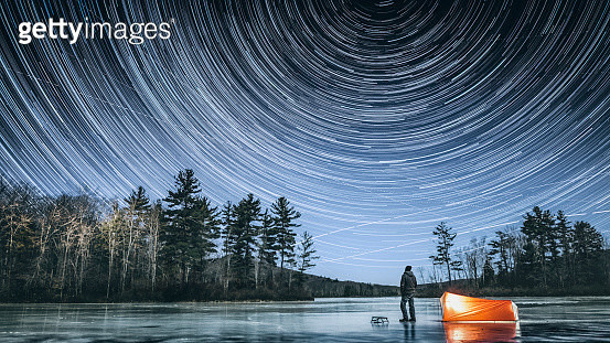 Winter stargazing in Connecticut - gettyimageskorea