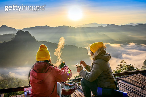 Enjoy meal morning - gettyimageskorea