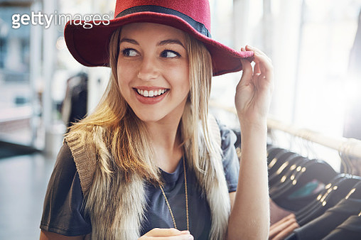 She's happiest when she's shopping - gettyimageskorea