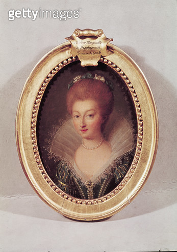 <b>Title</b> : Charlotte-Marguerite de Montmorency (1594-1650) (oil on canvas)Additional Infomother of the Grand Conde;<br><b>Medium</b> : <br><b>Location</b> : Musee Conde, Chantilly, France<br> - gettyimageskorea