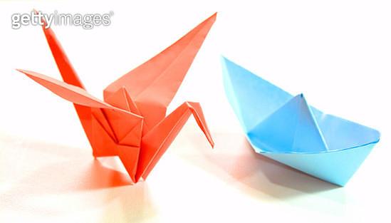Origami Art - gettyimageskorea