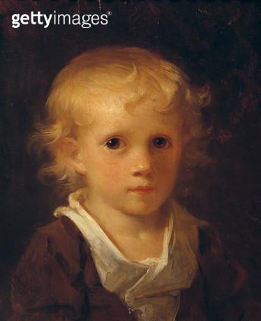 <b>Title</b> : Portrait of a Child (oil on canvas)<br><b>Medium</b> : oil on canvas<br><b>Location</b> : Musee Fragonard, Grasse, France<br> - gettyimageskorea