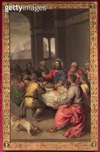 <b>Title</b> : The Last Supper<br><b>Medium</b> : <br><b>Location</b> : Palazzo Ducale, Urbino, Italy<br> - gettyimageskorea