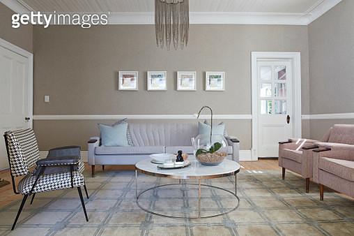 Interior shot of beautiful stylish livingroom - gettyimageskorea