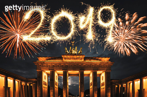 fireworks in germany for the new year - gettyimageskorea