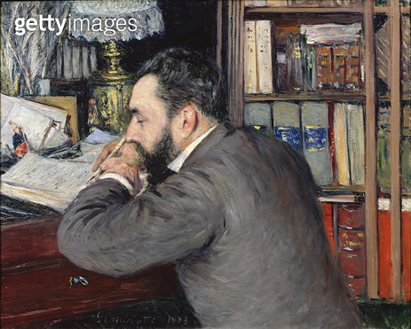 <b>Title</b> : Portrait of Henri Cordier (1849-1929), teacher at the School of Oriental Languages, 1883 (oil on canvas)<br><b>Medium</b> : oil on canvas<br><b>Location</b> : Musee des Beaux-Arts, Rennes, France<br> - gettyimageskorea