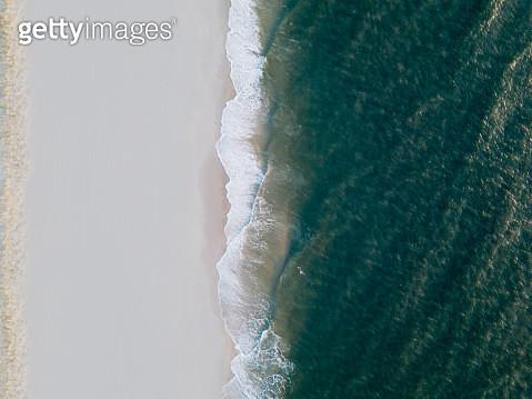 Aerial view of Atlantic Ocean - gettyimageskorea