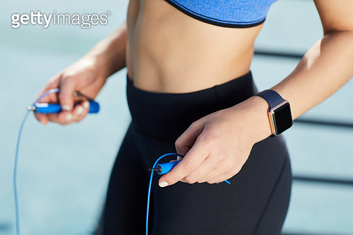 Jump rope workout - gettyimageskorea