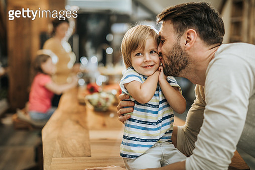 Daddy loves you very much! - gettyimageskorea