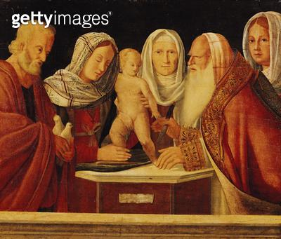 <b>Title</b> : The Circumcision (oil on panel)<br><b>Medium</b> : <br><b>Location</b> : Musee des Beaux-Arts, Tours, France<br> - gettyimageskorea