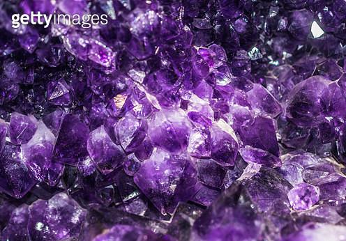 amethyst, violet mineral - gettyimageskorea