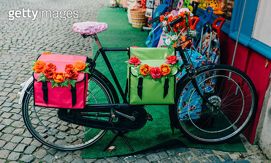 Decorated bicycle - gettyimageskorea