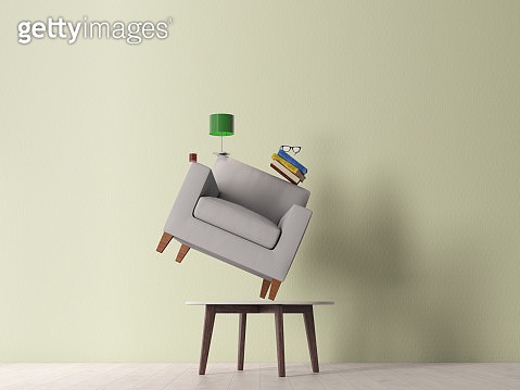 stack of furnitures - gettyimageskorea