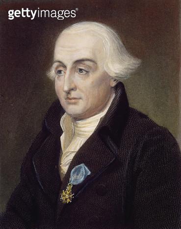 JOSEPH LOUIS LAGRANGE /n(1736-1813). French (Italian-born) mathematician and astronomer. Steel engraving, English, 1833. - gettyimageskorea