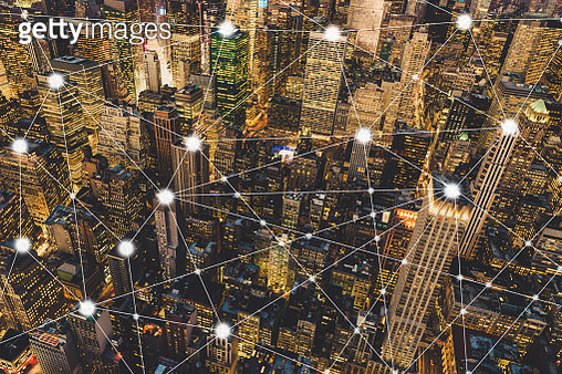 City Network of Manhattan - gettyimageskorea