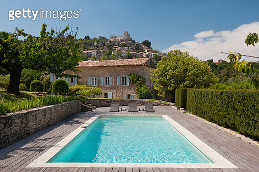 Artist's house in Provence, France - gettyimageskorea