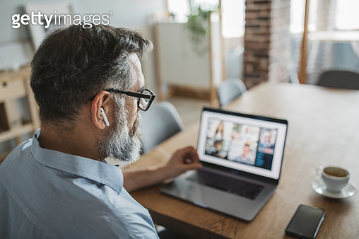 Working during isolation period - gettyimageskorea