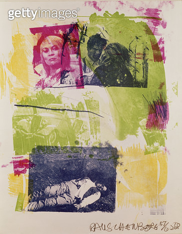 <b>Title</b> : Storyline I (Bonnie and Clyde) 1968 (litho from reels)<br><b>Medium</b> : lithograph from reels<br><b>Location</b> : Private Collection<br> - gettyimageskorea