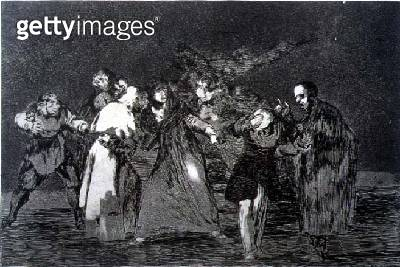 <b>Title</b> : 193-0082312 The exhortations, plate 16 of 'Proverbs', 1819-23, pub. 1864 (etching)<br><b>Medium</b> : etching and burnished aquatint<br><b>Location</b> : Private Collection<br> - gettyimageskorea