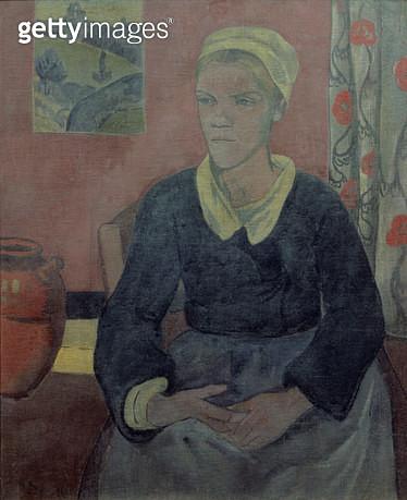 <b>Title</b> : Louise (The Breton servant)<br><b>Medium</b> : <br><b>Location</b> : Musee du Prieure, St.Germain-en-Laye, Paris, France<br> - gettyimageskorea