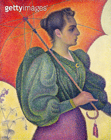 <b>Title</b> : Woman with a Parasol, 1893 (oil on canvas)Additional Infopossibly the artist's wife, Berthe;<br><b>Medium</b> : oil on canvas<br><b>Location</b> : Musee d'Orsay, Paris, France<br> - gettyimageskorea