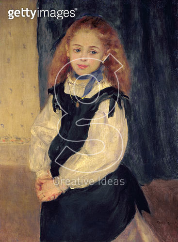 <b>Title</b> : Portrait of Mademoiselle Legrand<br><b>Medium</b> : oil on canvas<br><b>Location</b> : Private Collection, Philadelphia, PA, USA<br> - gettyimageskorea