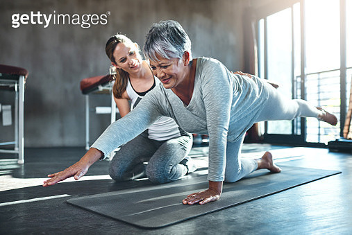 Working together to improve muscle strength and tone - gettyimageskorea
