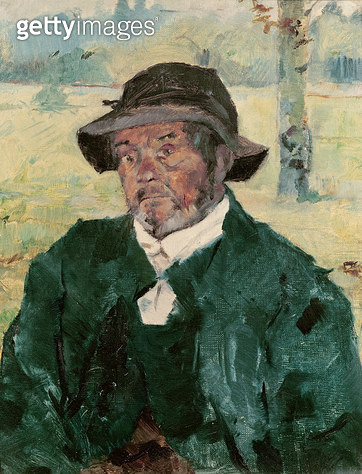 <b>Title</b> : An Old Man, Celeyran, 1882 (oil on canvas)<br><b>Medium</b> : oil on canvas<br><b>Location</b> : Musee Toulouse-Lautrec, Albi, France<br> - gettyimageskorea
