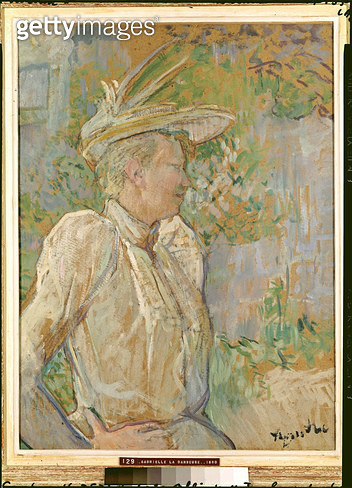 <b>Title</b> : Gabrielle the Dancer, 1890 (oil on canvas)<br><b>Medium</b> : oil on canvas<br><b>Location</b> : Musee Toulouse-Lautrec, Albi, France<br> - gettyimageskorea