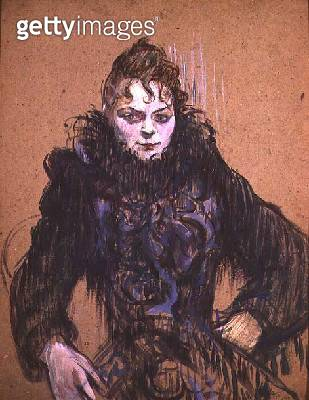 <b>Title</b> : Woman with a Black Boa, 1892 (oil on cardboard)Additional InfoFemme au Boa Noir;<br><b>Medium</b> : oil on cardboard<br><b>Location</b> : Musee d'Orsay, Paris, France<br> - gettyimageskorea