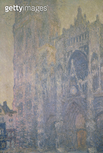 <b>Title</b> : Rouen Cathedral, Harmony in White, Morning Light, 1894 (oil on canvas)<br><b>Medium</b> : oil on canvas<br><b>Location</b> : Musee d'Orsay, Paris, France<br> - gettyimageskorea