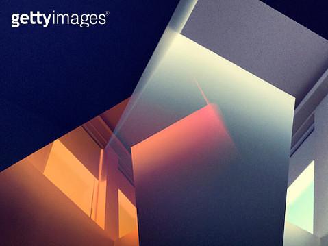 Multiexposure image of sunlit room - gettyimageskorea