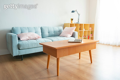 Laptop On Table At Home - gettyimageskorea