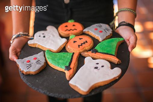 halloween handmade cookies - gettyimageskorea