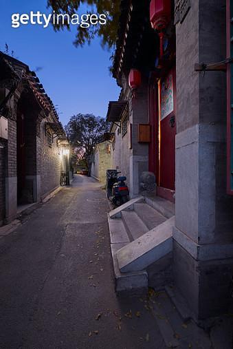 Hutong street, Beijing, China - gettyimageskorea