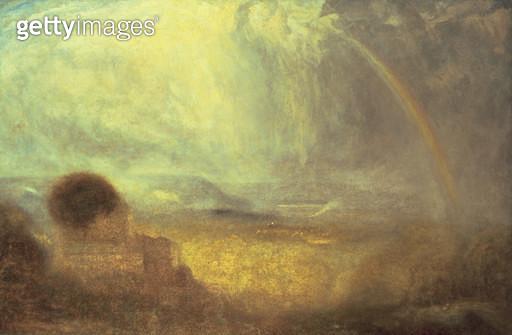 <b>Title</b> : Landscape with a rainbow<br><b>Medium</b> : oil on canvas<br><b>Location</b> : Phillips, The International Fine Art Auctioneers, UK<br> - gettyimageskorea